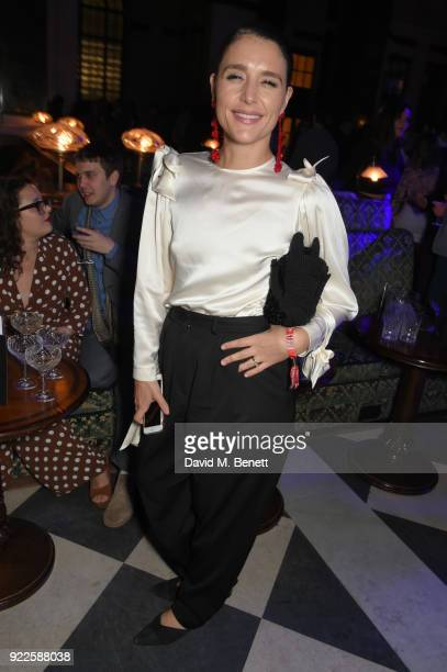 Jessie Ware attends the Universal Music BRIT Awards AfterParty 2018 hosted by Soho House and Bacardi at The Ned on February 21 2018 in London England