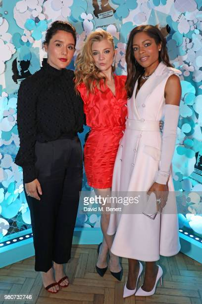 Jessie Ware Natalie Dormer and Naomie Harris attend as Tiffany Co celebrates the launch of the Tiffany Paper Flower collection at The Lindley Hall on...