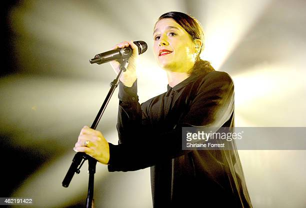 Jessie Ware performs at Academy on January 25 2015 in Manchester England