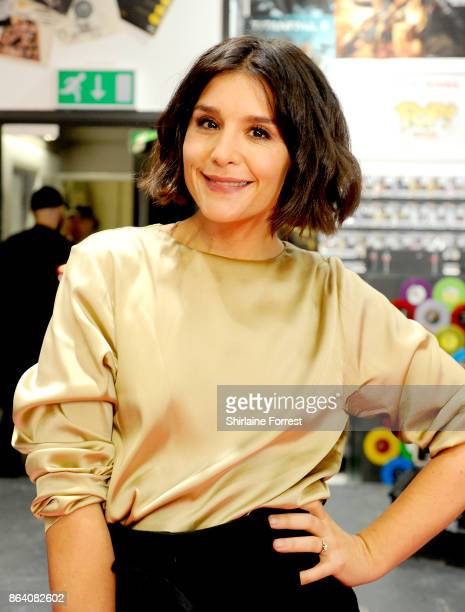 Jessie Ware performs live instore and signs copies of her new album 'Glasshouse' for fans at HMV Manchester on October 20 2017 in Manchester England