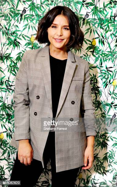 Jessie Ware poses backstage after performing live instore and signing copies of her new album 'Glasshouse' for fans at HMV Manchester on October 20...