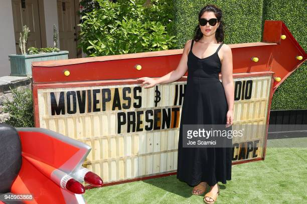 Jessie Ware poses for a photo at MoviePass x iHeartRadio Festival Chateau at The Chateau at Lake La Quinta on April 13 2018 in La Quinta California