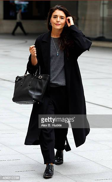 Jessie Ware seen at the BBC Studios Portland Place on September 29 2014 in London England Photo by Alex Huckle/GC Images