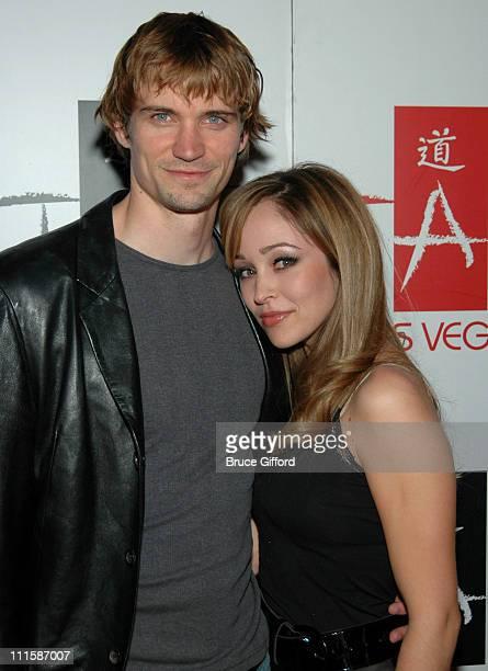 Jessie Warren and Autumn Reeser during Autumn Reeser Hosts an Evening at TAO Nightclub in Las Vegas at Tao Nightclub at The Venetian in Las Vegas...