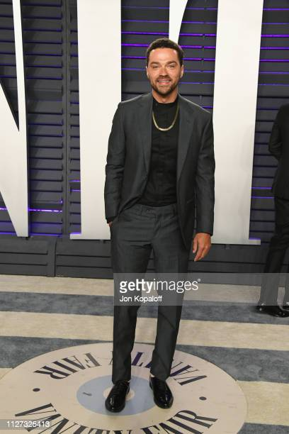 Jessie Williams attends the 2019 Vanity Fair Oscar Party hosted by Radhika Jones at Wallis Annenberg Center for the Performing Arts on February 24...