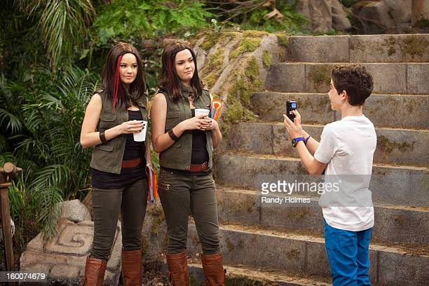 """Jessie's Big Break"""" - Jessie gets her big break as a stunt double to popular Australian actress Shaylee Michaels and the two become fast friends. But..."""