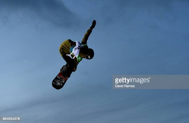 Jessika Jenson of USA competes in the Women's Snowboard Big Air final on day 10 of the FIS Freestyle Ski and Snowboard World Championships 2017 on...