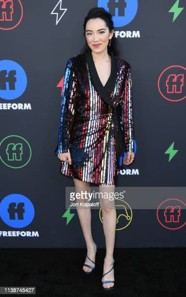 Jessika Van attends 2nd Annual Freeform Summit at Goya Studios on March 27 2019 in Los Angeles California