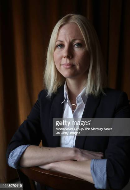 Jessikka Aro a Finnish journalist investigating Russian troll farms visits San Francisco Calif Thursday May 9 to discuss her concerns about being a...