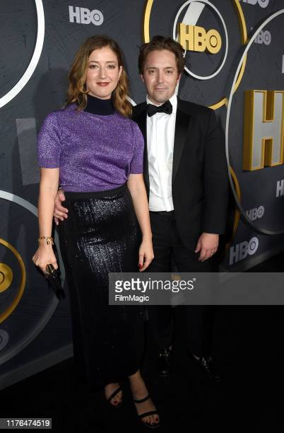 Jessy Hodges and Beck Bennett HBO's Official 2019 Emmy After Party on September 22 2019 in Los Angeles California
