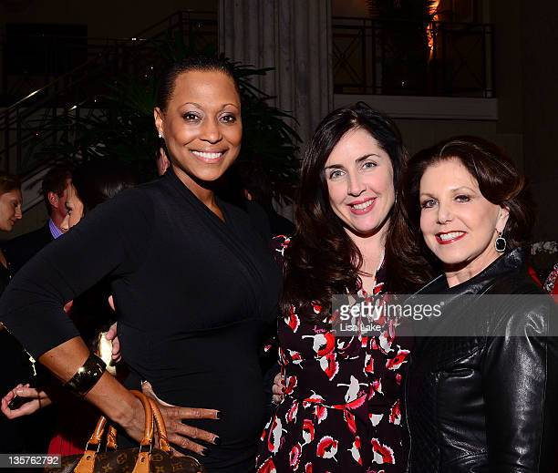 Jessy Kyle Nicole Cashman and Renee Freeman attend The Philadelphia Style Magazine cover event hosted by Melania Trump at Ritz Carlton Hotel on...
