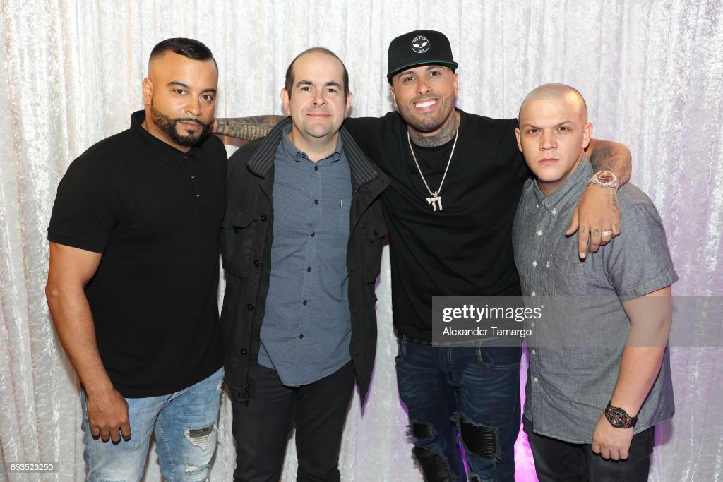 Jessy Terrero Sergio Pizzilante Nicky Jam And Juan Diego Medina Are News Photo Getty Images