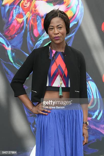 "Jessy Ugolin attends ""Cassandre"" Photocall as part of the 56th Monte Carlo Tv Festival at the Grimaldi Forum on June 13, 2016 in Monte-Carlo, Monaco."