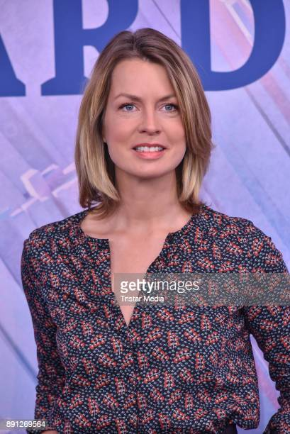 Jessy Wellmer during the Olympia Press Conference on December 12 2017 in Berlin Germany