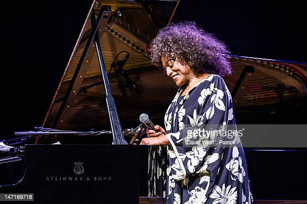 Jessye Norman performs at L'Olympia on June 26 2012 in Paris France