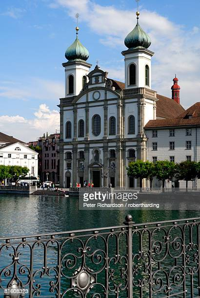 Jesuit church, Luzern (Lucerne), Switzerland, Europe