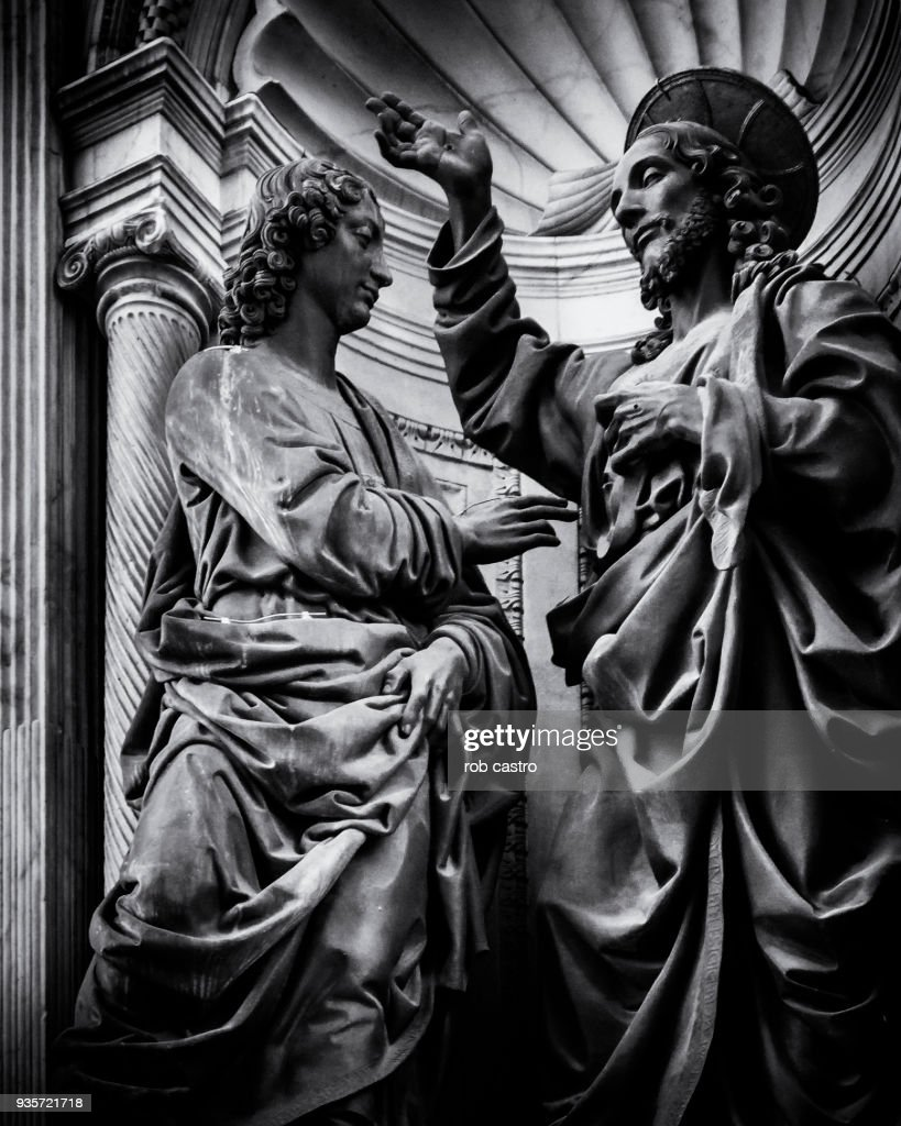 Jesus and Disciple : Stock Photo