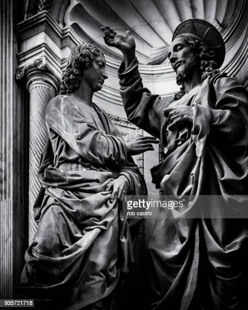 Jesus and Disciple