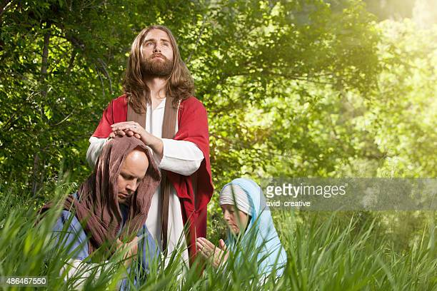 Jesus Blessing His Followers