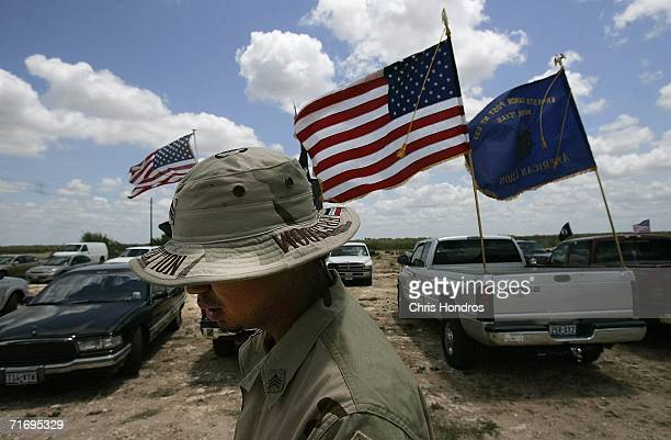 Jesus Bocanegra walks in uniform to a Memorial Day weekend service May 27 2006 in Benavides Texas Bocanegra has been diagnosed with PostTraumatic...