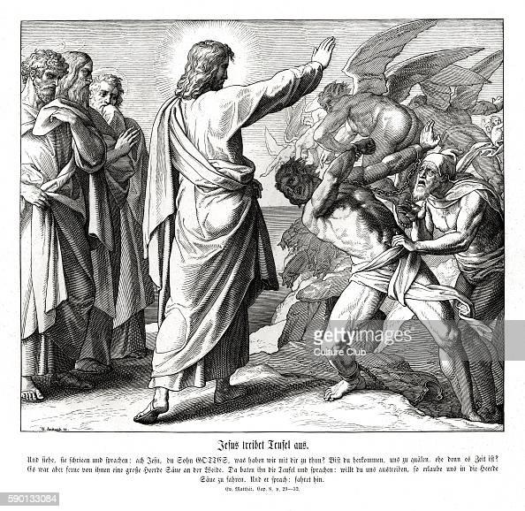 Jesus Casts Out The Demons, Gospel Of Matthew Chapter VIII