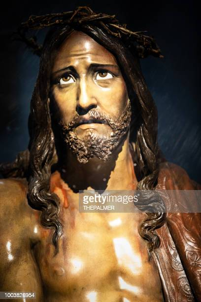 jesus christ church segovia spain - the crucifixion stock pictures, royalty-free photos & images