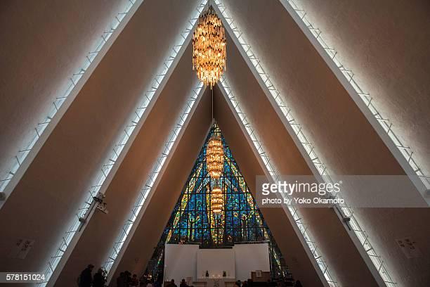 Jesus Christ of Ishavskatedralen (Arctic Church)