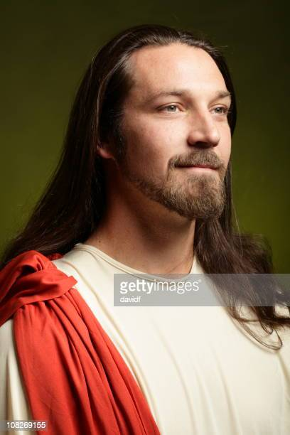 jesus christ - smiling jesus stock pictures, royalty-free photos & images