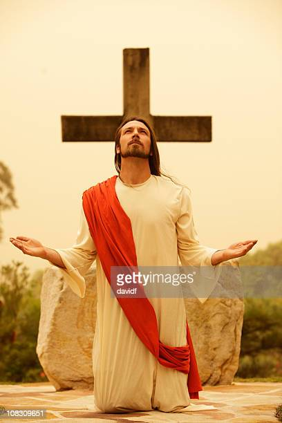 jesus christ praying - blessing stock pictures, royalty-free photos & images