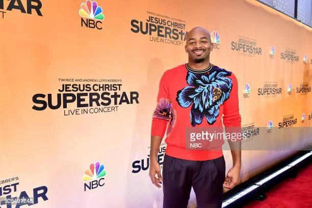 CONCERT Jesus Christ Superstar Live in Concert Press Junket Pictured Brandon Victor Dixon in New York on Tuesday February 27 2018