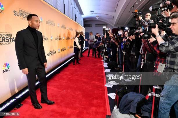 CONCERT Jesus Christ Superstar Live in Concert Press Junket Pictured John Legend in New York on Tuesday February 27 2018