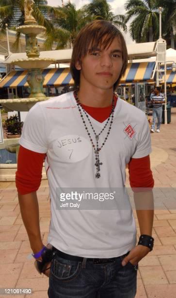 Jesus Cicciardello during MTV 3 Open Casting for New Reality Series 'Menudo' in Miami Florida United States