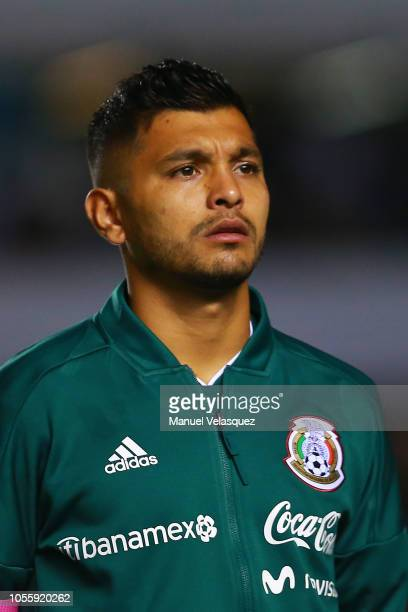 45baf5725b5 Jesus Corona of Mexico looks on prior the international friendly match  between Mexico and Chile at