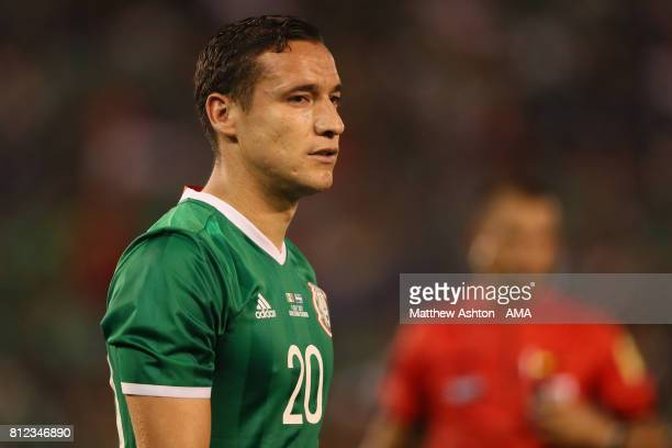 Jesus Duenas of Mexico during the 2017 CONCACAF Gold Cup Group C match between Mexico and El Salvador at Qualcomm Stadium on July 9 2017 in San Diego...