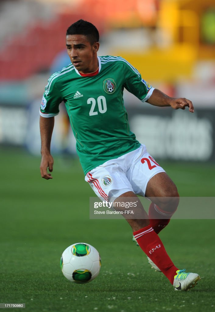 Jesus Escoboza of Mexico in action during the FIFA U20 World Cup Group D match between Mali and Mexico at Kamil Ocak Stadium on June 28, 2013 in Gaziantep, Turkey.
