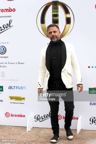 Jesus Garces Lambert attends Globi D'Oro awards ceremony at the Academie de France Villa Medici on June 13 2018 in Rome Italy