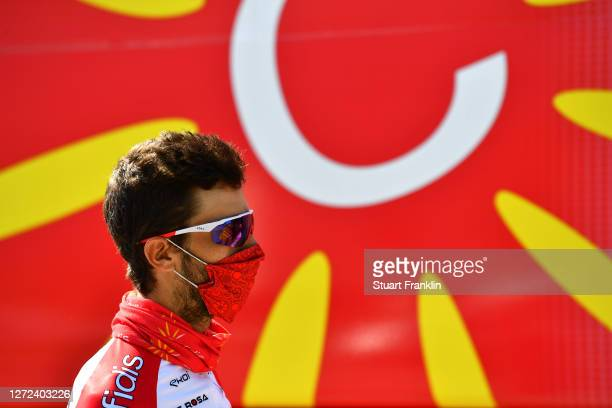 Jesus Herrada Lopez of Spain and Team Cofidis Solutions Credits / Mask / Covid safety measures / during the 107th Tour de France 2020, Covid-19...