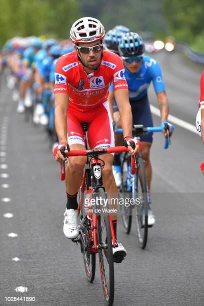 Jesus Herrada of Spain and Team Cofidis Red Leader Jersey / during the 73rd Tour of Spain 2018, Stage 13 a 174,8km stage from Candas. Carreno to...