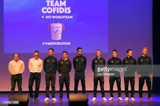 Jesus Herrada of Spain Team Cofidis Solutions Credits / Fernando Barceló of Spain Team Cofidis Solutions Credits / Victor Lafay of France Team...