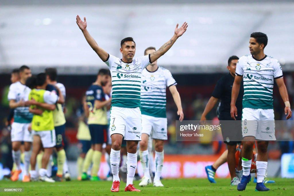 America v Santos Laguna - Playoffs Torneo Clausura 2018 Liga MX : News Photo