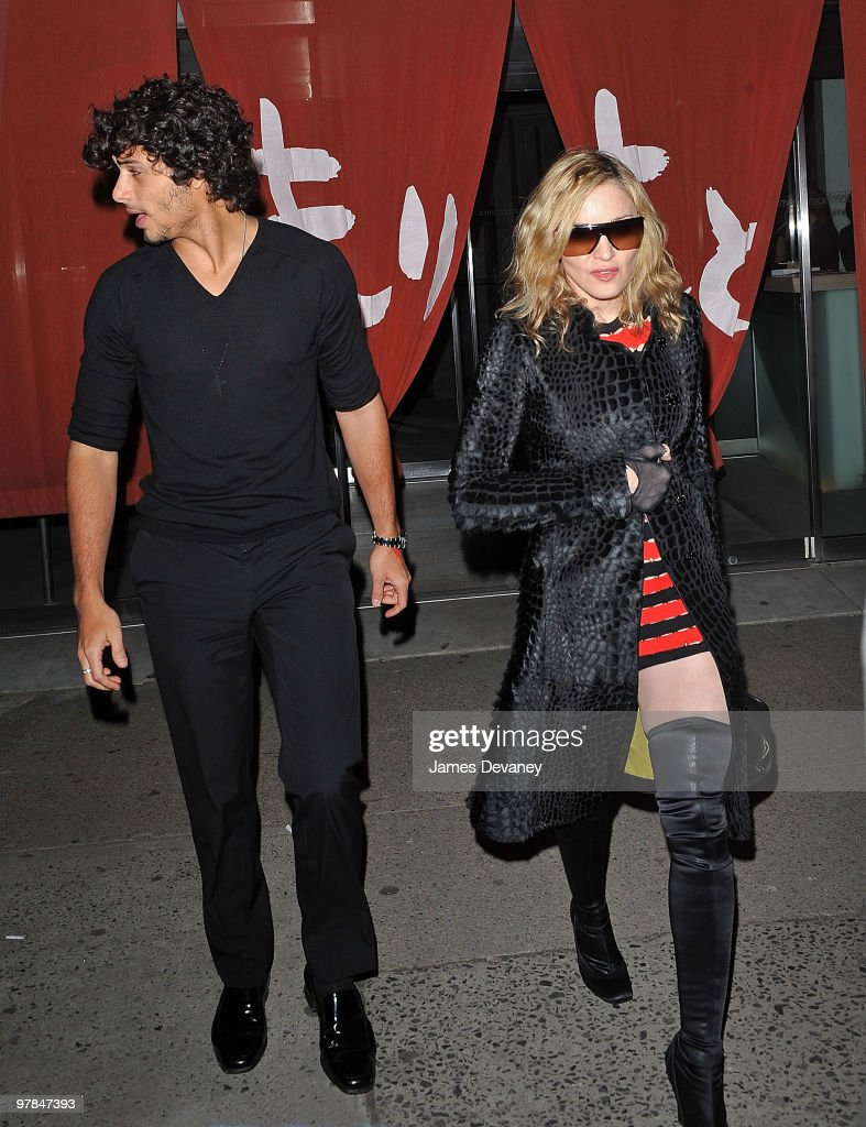 Celebrity Sightings In New York City - March 18, 2010