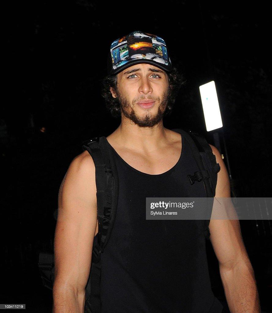 Celebrity Sightings In London - August 16, 2010
