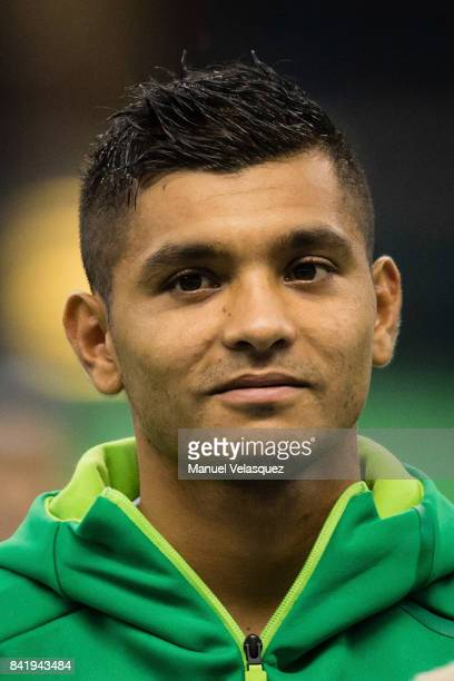 Jesus Manuel Corona of Mexico looks on prior to the match between Mexico and Panama as part of the FIFA 2018 World Cup Qualifiers at Estadio Azteca...
