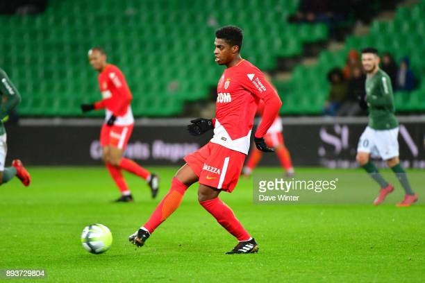 Jesus Nascimento Jemerson of Monaco during the Ligue 1 match between AS SaintEtienne and AS Monaco at Stade GeoffroyGuichard on December 15 2017 in...
