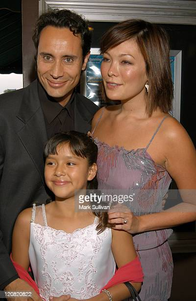 Jesus Nebot Lindsay Price and Chelsea Rendon during The Premiere of No Turning Back at Laemmle Fairfax Theater in Los Angeles California United States