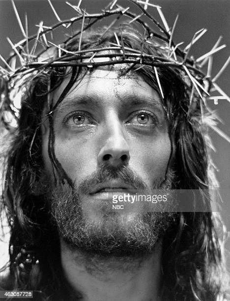 EVENT 'Jesus of Nazareth' Pictured Robert Powell as Jesus Christ