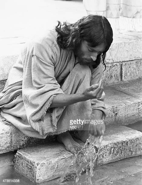 EVENT 'Jesus of Nazareth' Pictured Robert Powell as Jesus Christ