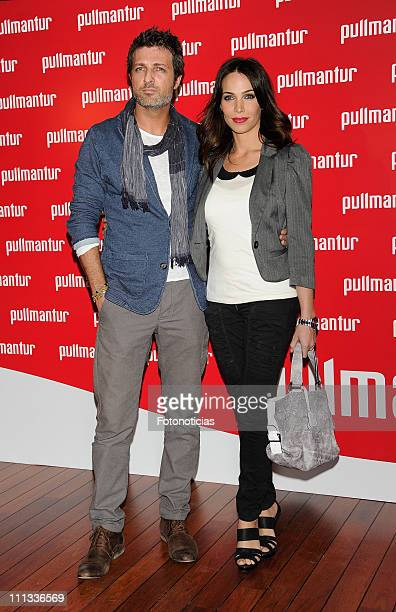 Jesus Olmedo and Nerea Garmendia attend the launch of 'Viajes Ocio Placer' Pullmantur's Magazine at Oui on March 31 2011 in Madrid Spain