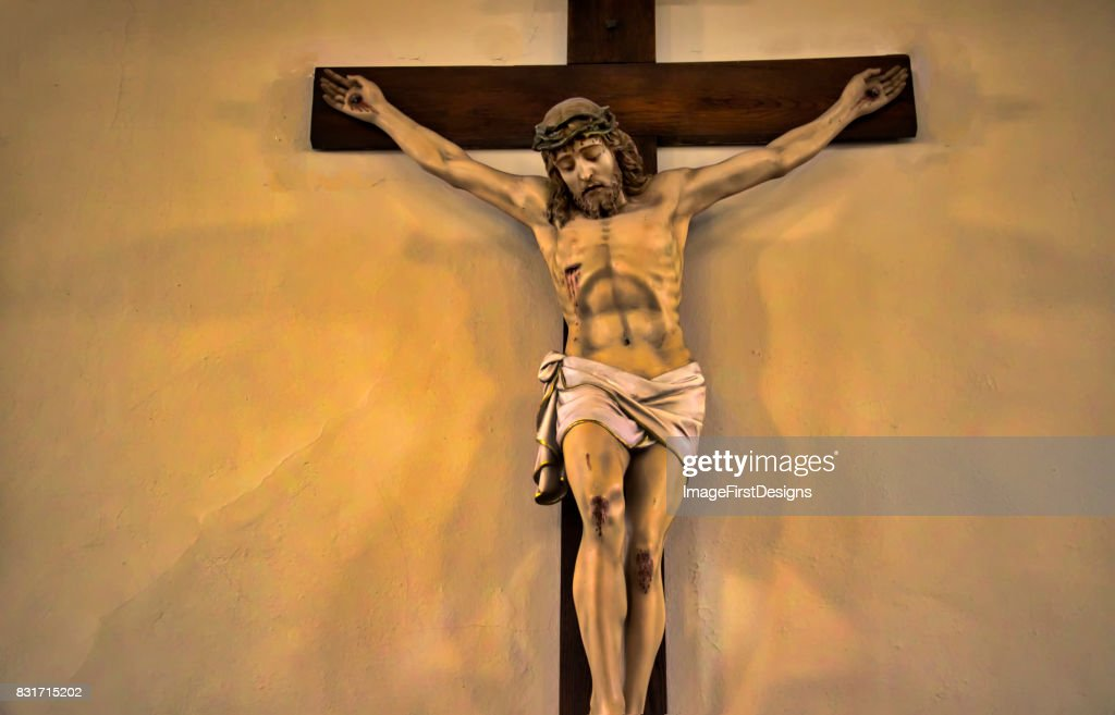 Jesus on the Cross : Stock Photo