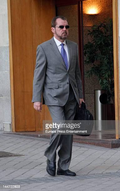 Jesus Ortiz Princess Letizia's father is seen on May 17 2012 in Madrid Spain
